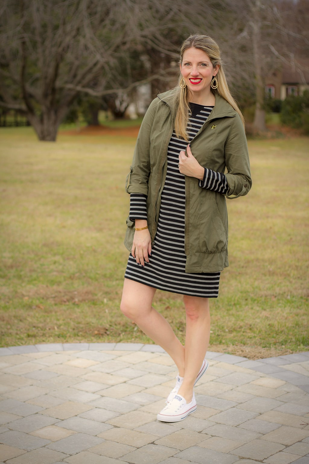 Stripes for Spring Dresses
