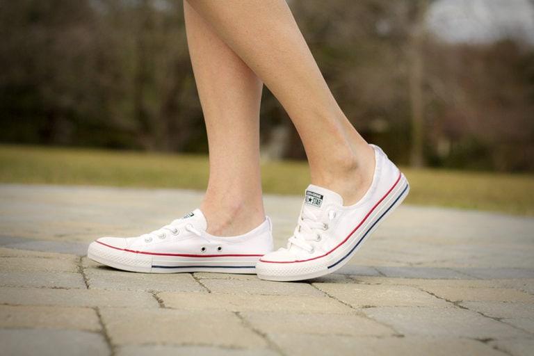 Wardrobe Staple, Slip-On White Sneakers