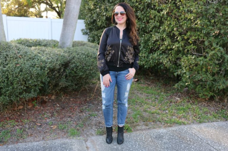 How to Wear a Bomber Jacket this Spring