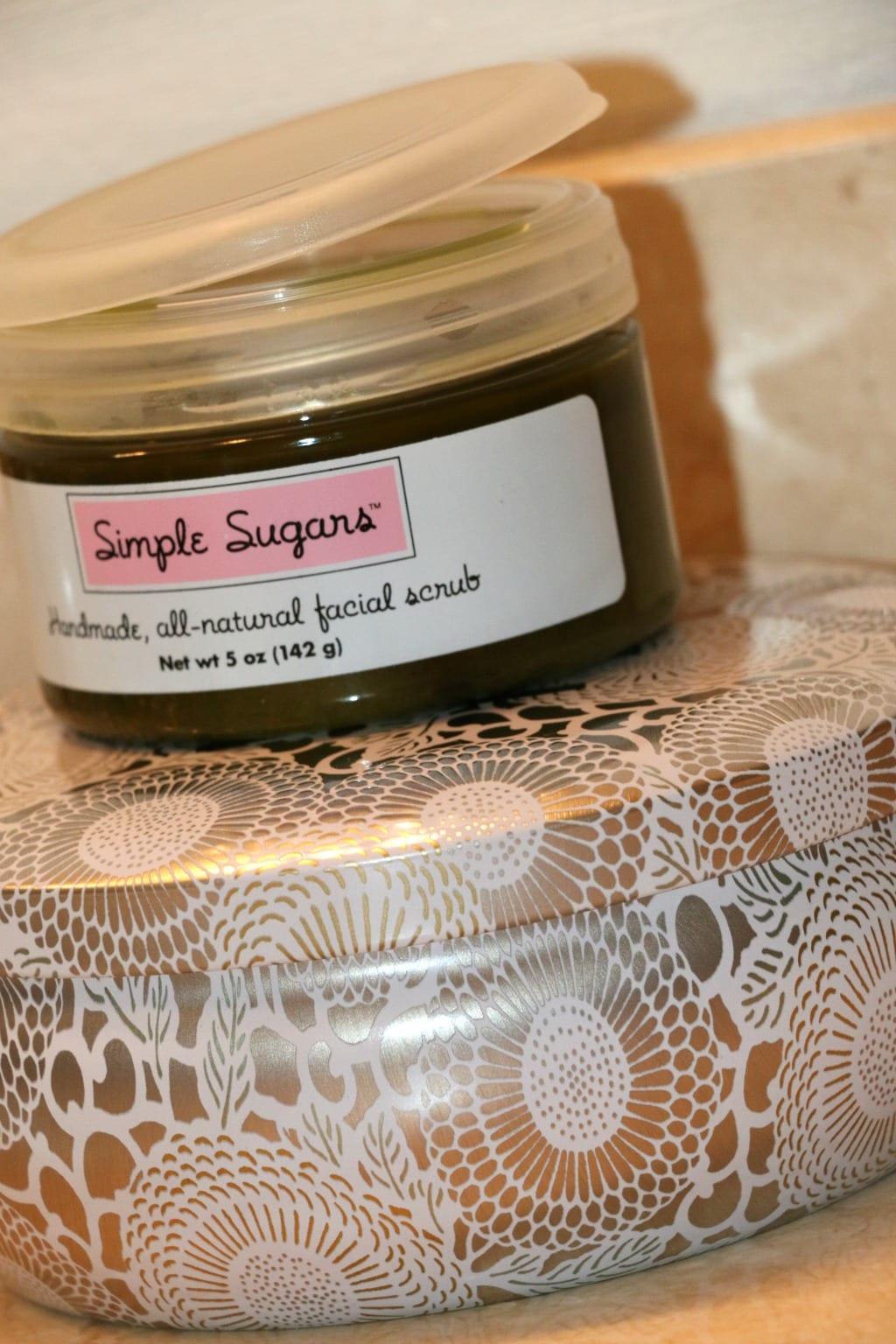 simple sugars face scrub