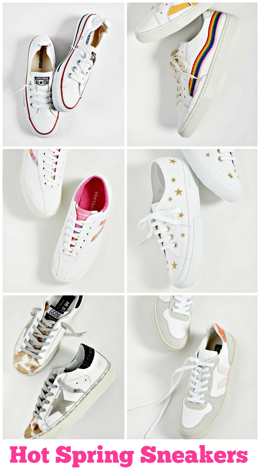 must have white sneakers