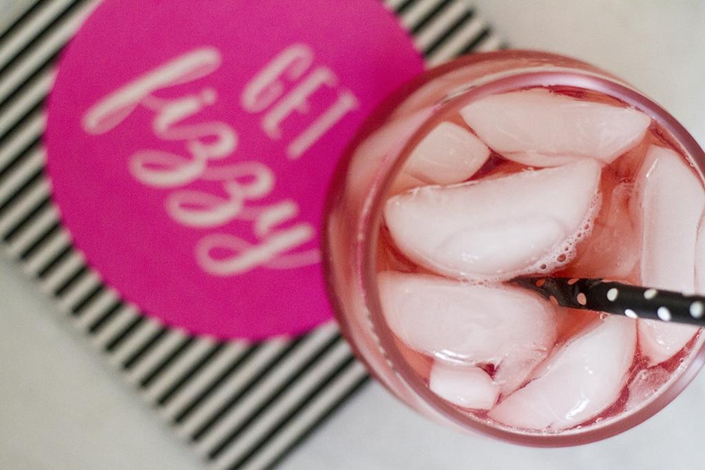 Sparkling Grapefruit Vodka Cocktail