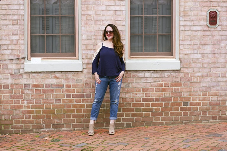 Cold Shoulder Style for Spring and Summer