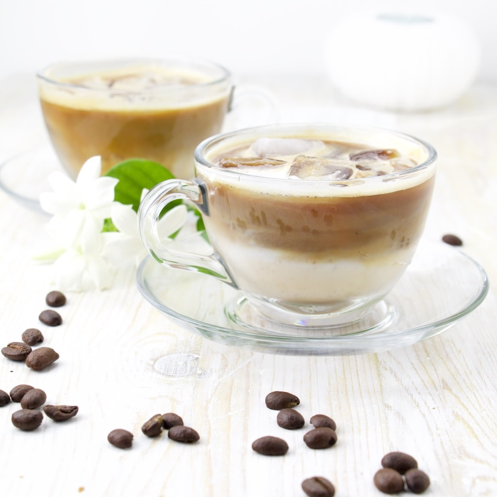 Iced Coffee Recipes - Cappuccino on the Rocks