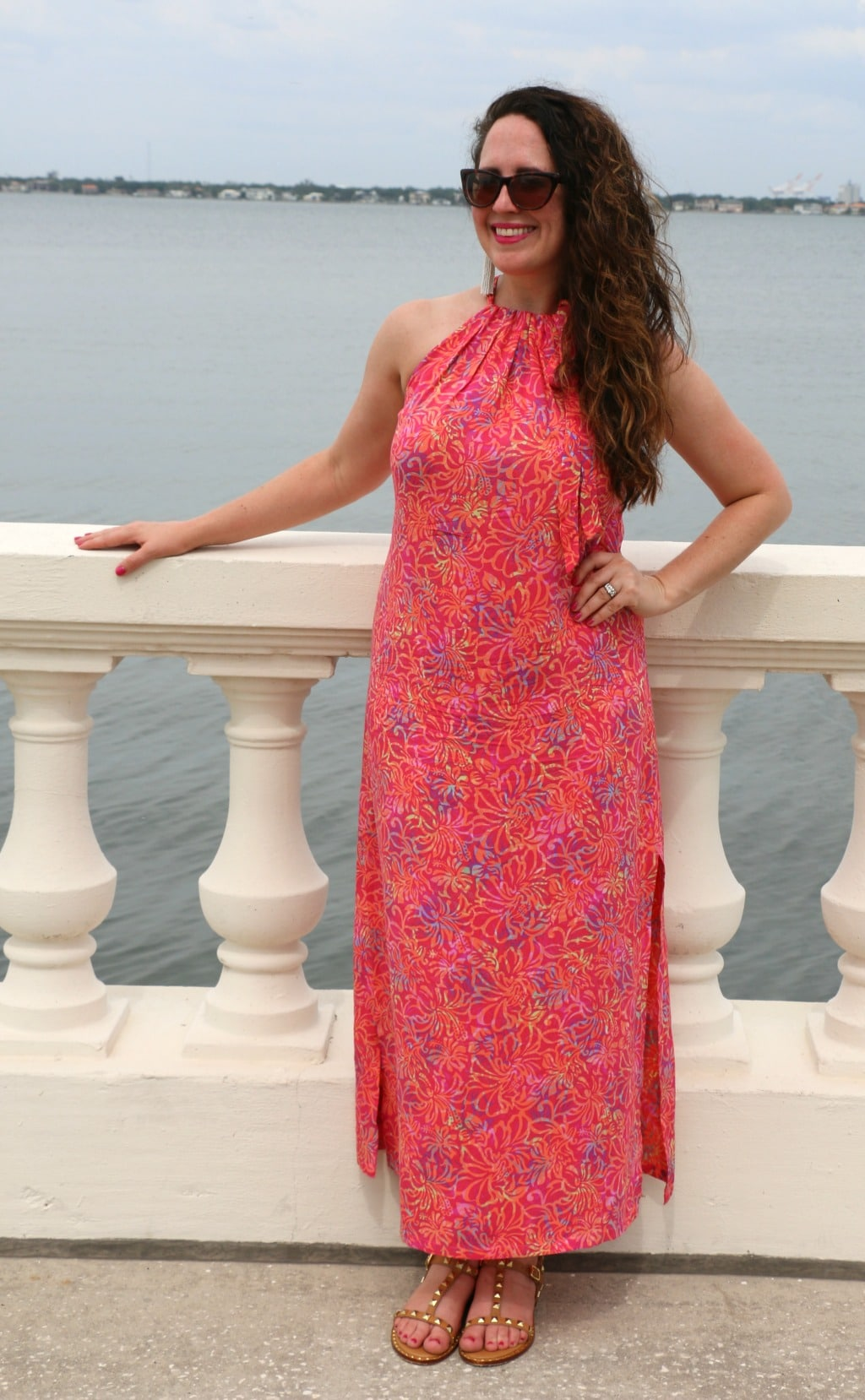 maxi and sandals summer style
