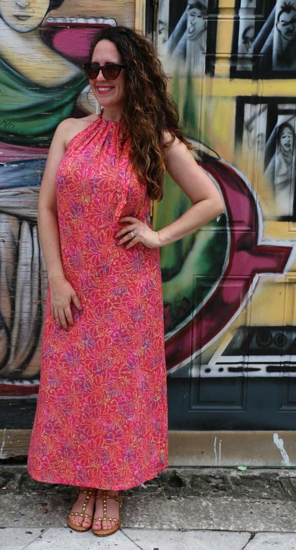 maxi dress summer look