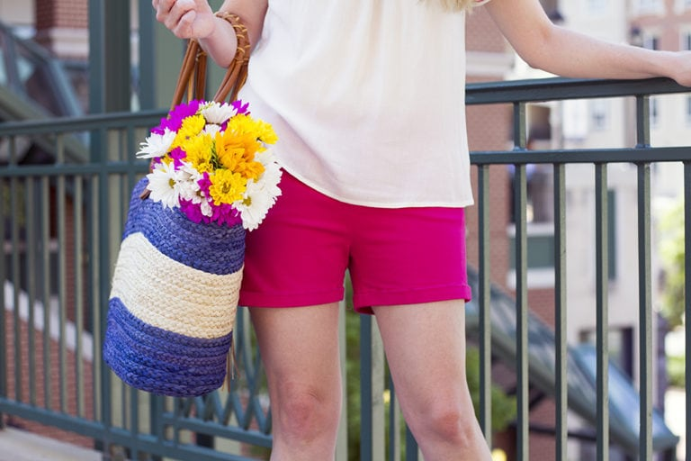 Hot Weather? Hot Pink Shorts!