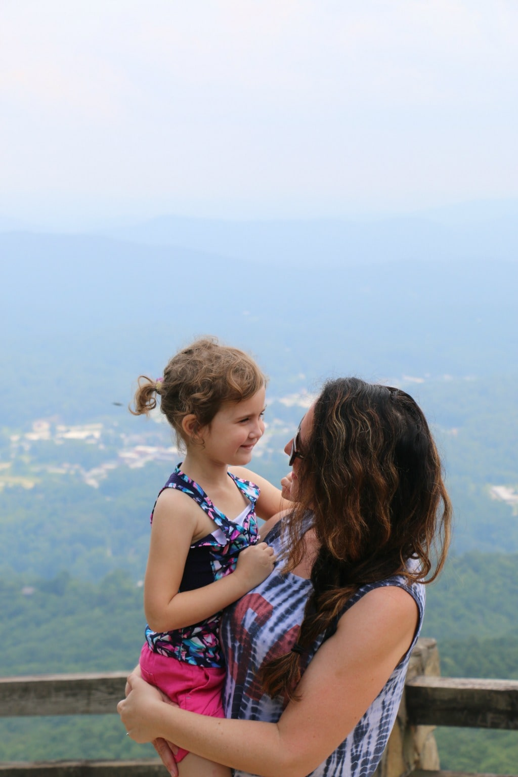 mommy and me hiking
