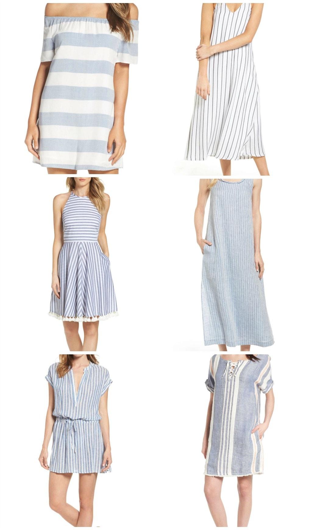 striped dress roundup
