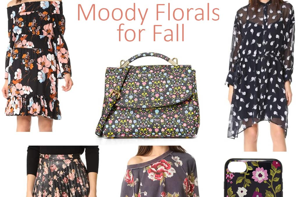 Top Picks for Fall Moody Florals