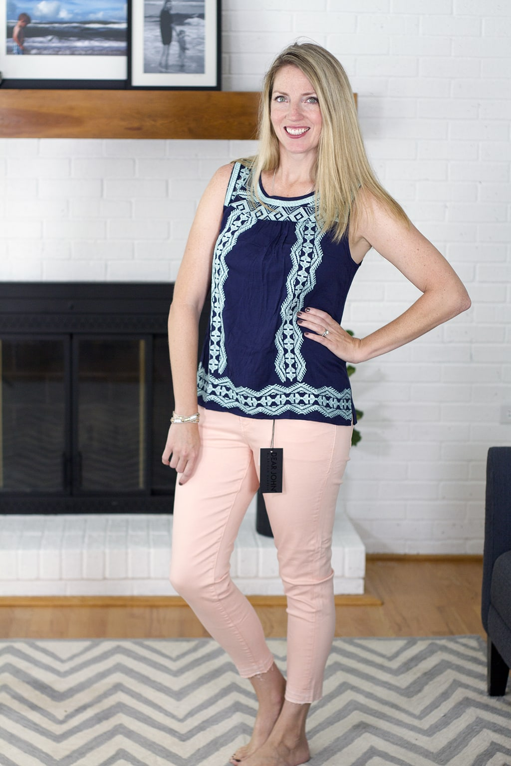 Stitch Fix Pink Pants