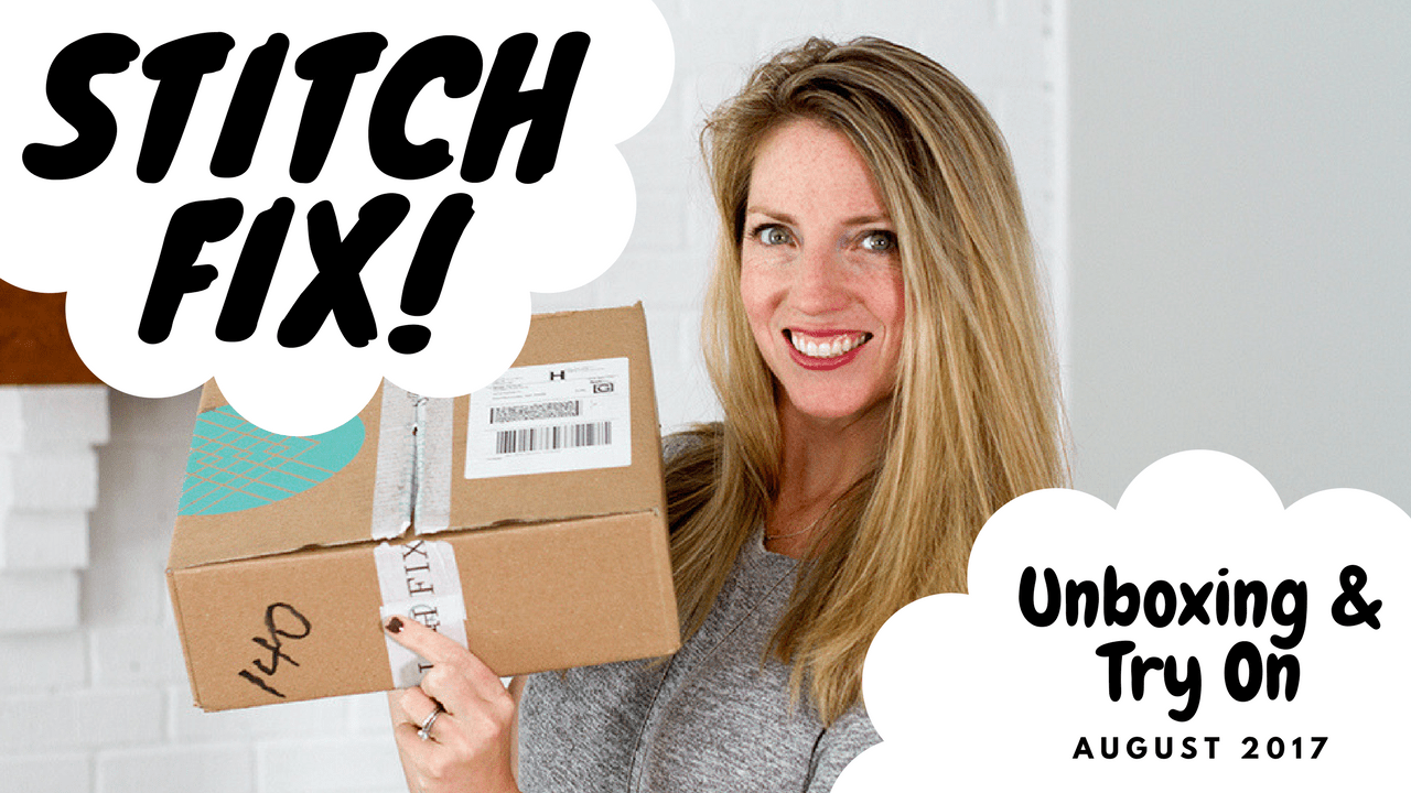 August Stitch Fix Unboxing and Try On