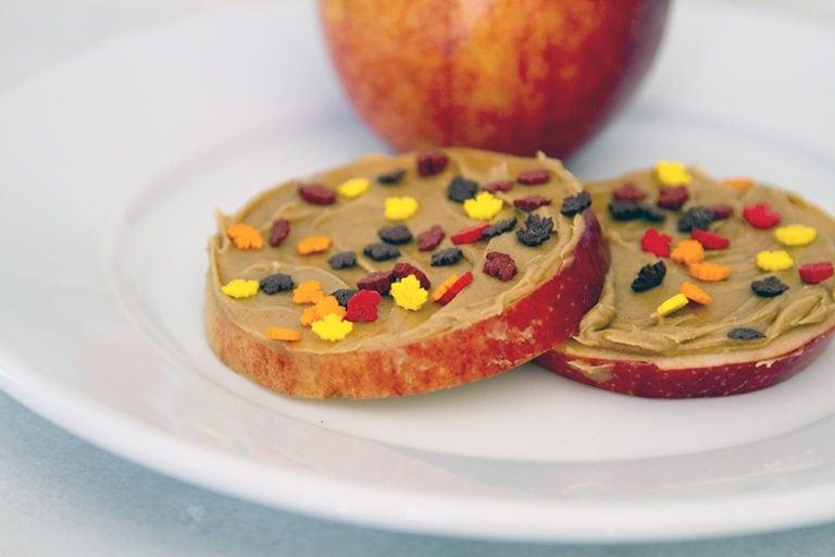 Fall Snack, Fancy Apple Slices