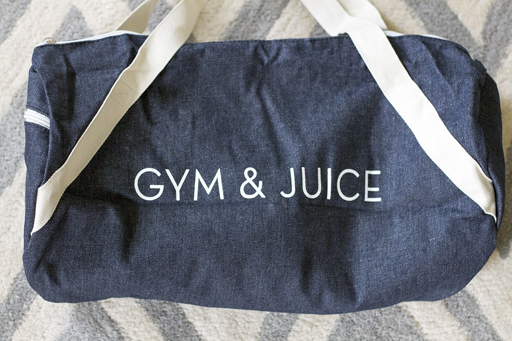 Fab Fit Fun Gym Bag