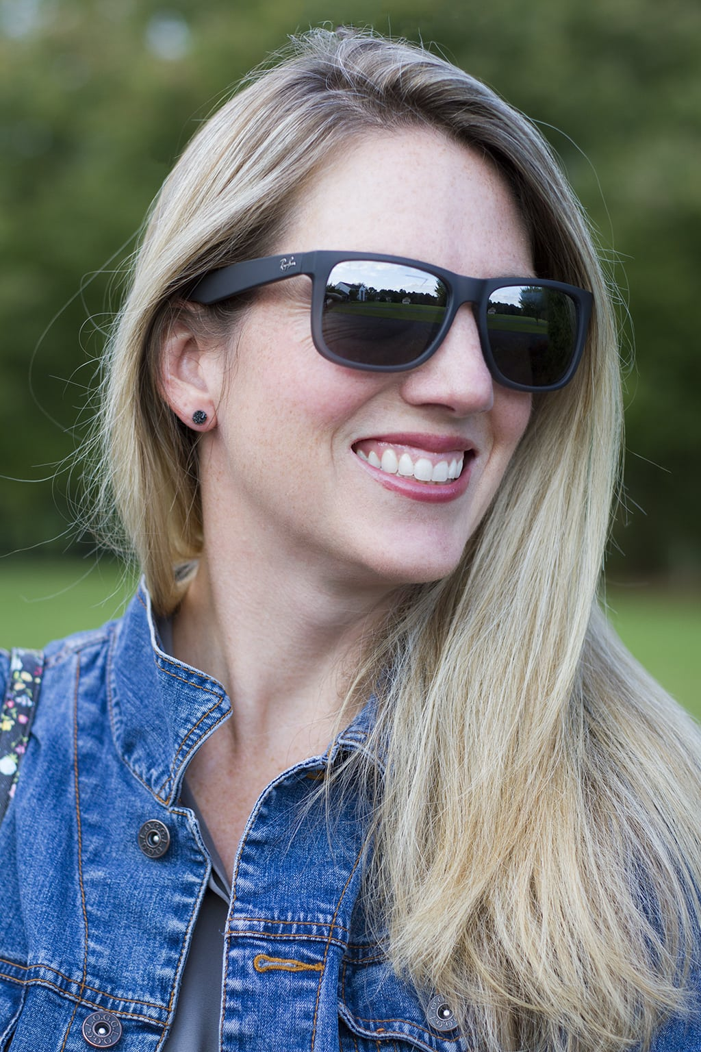 Grey RayBan Sunglasses