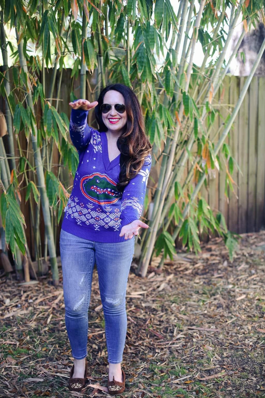 gator sweater