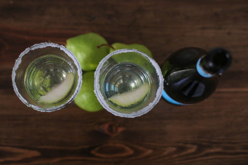 Pear Cocktail Glasses