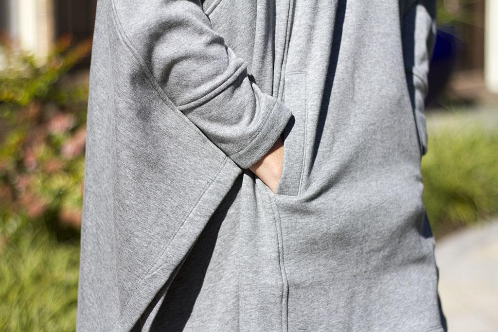 Grey Ugg Poncho