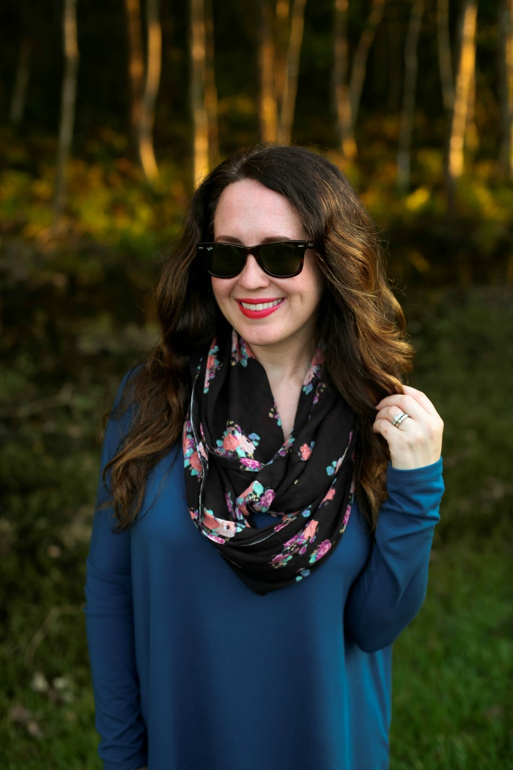 infinity scarf style