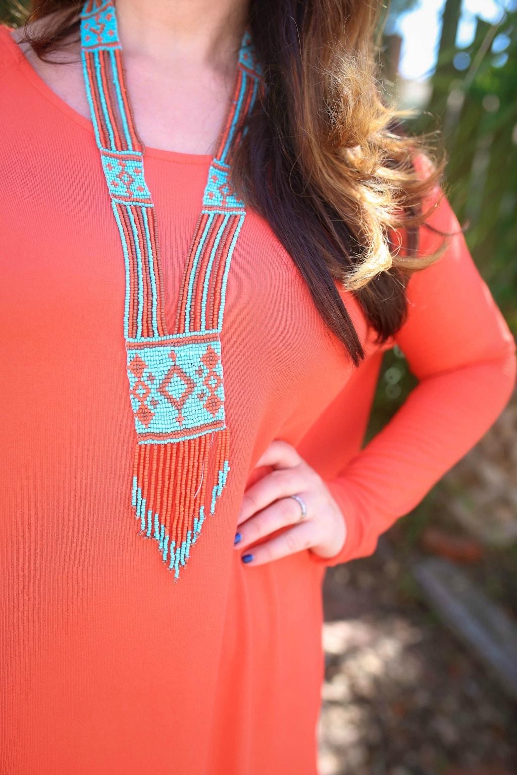 orange outfit ideas