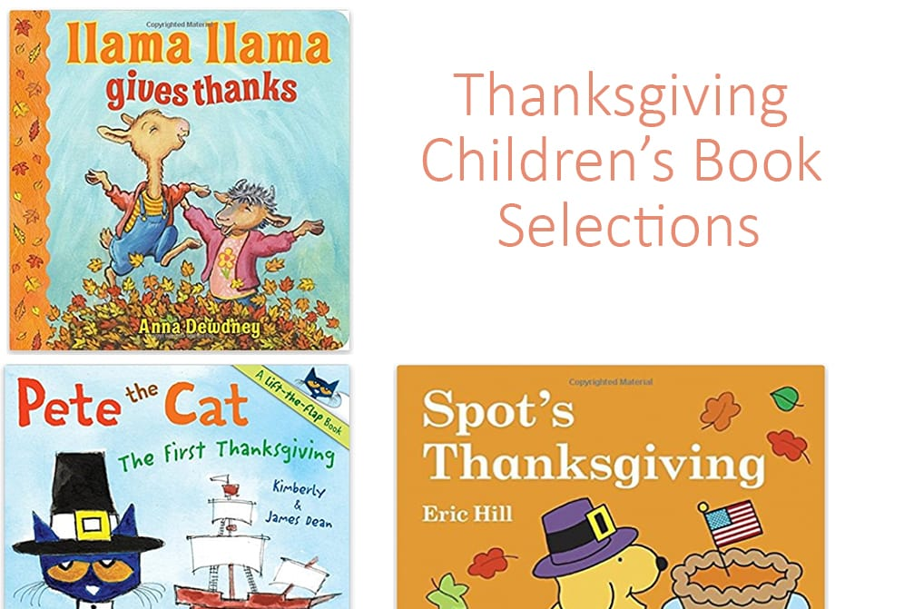 Children's Thanksgiving Books