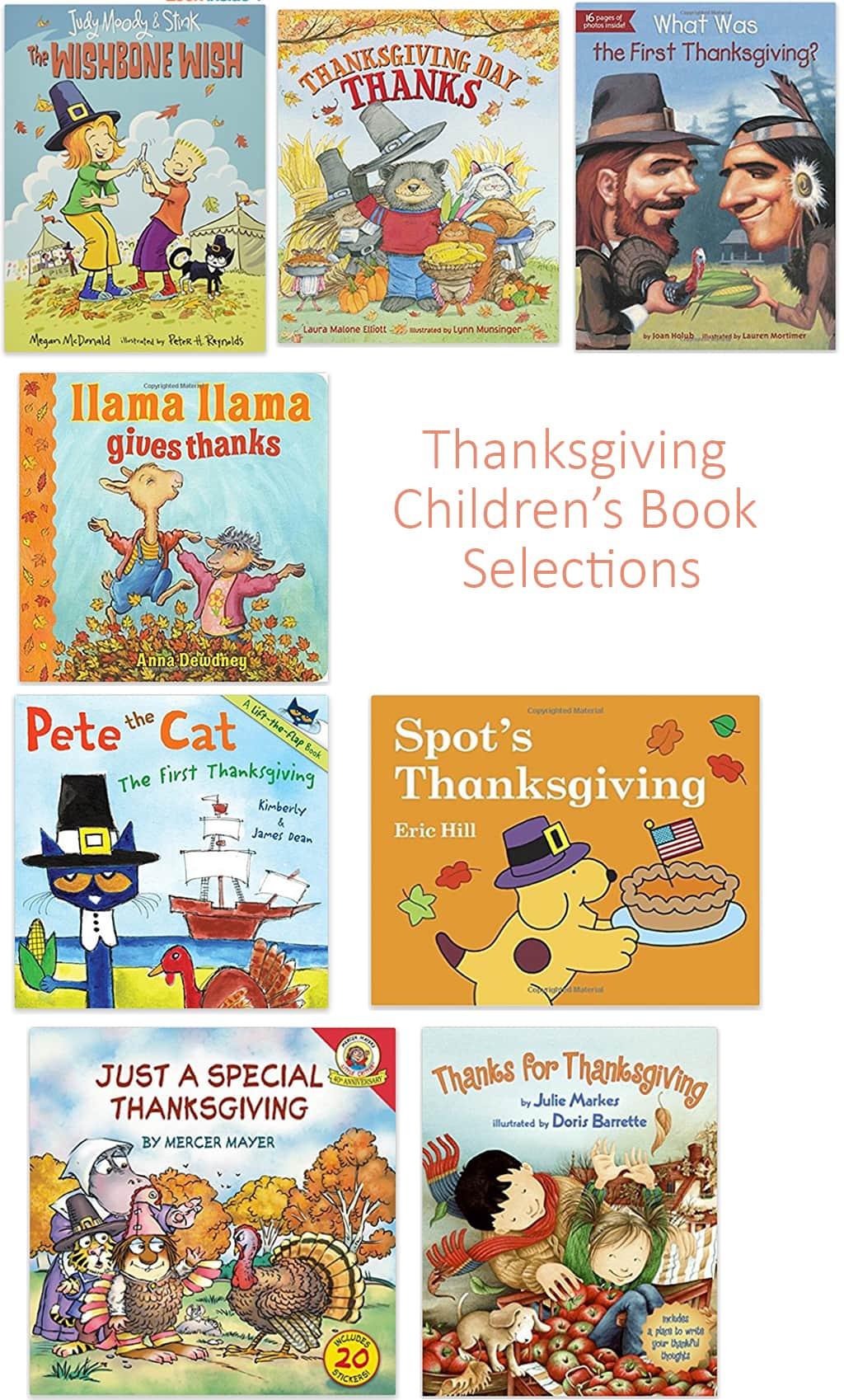 Thanksgiving Children's Books