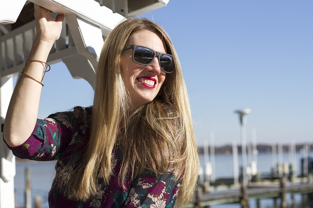 Meg Gazebo Smiles