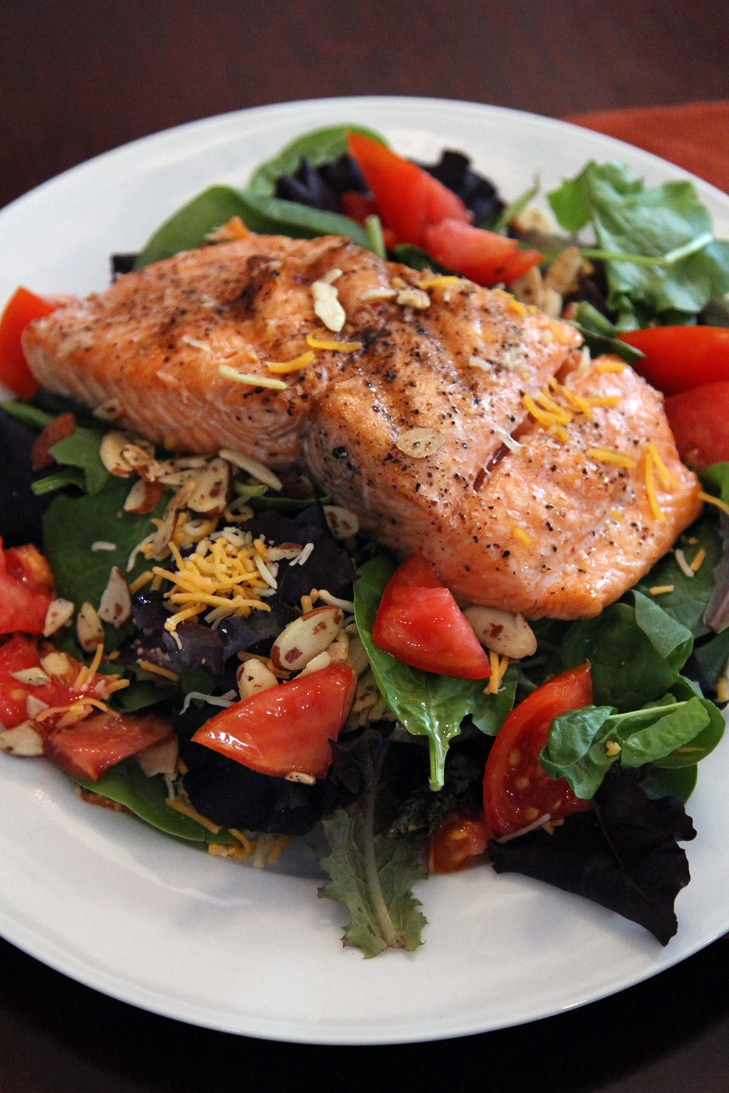quick and easy salmon salad