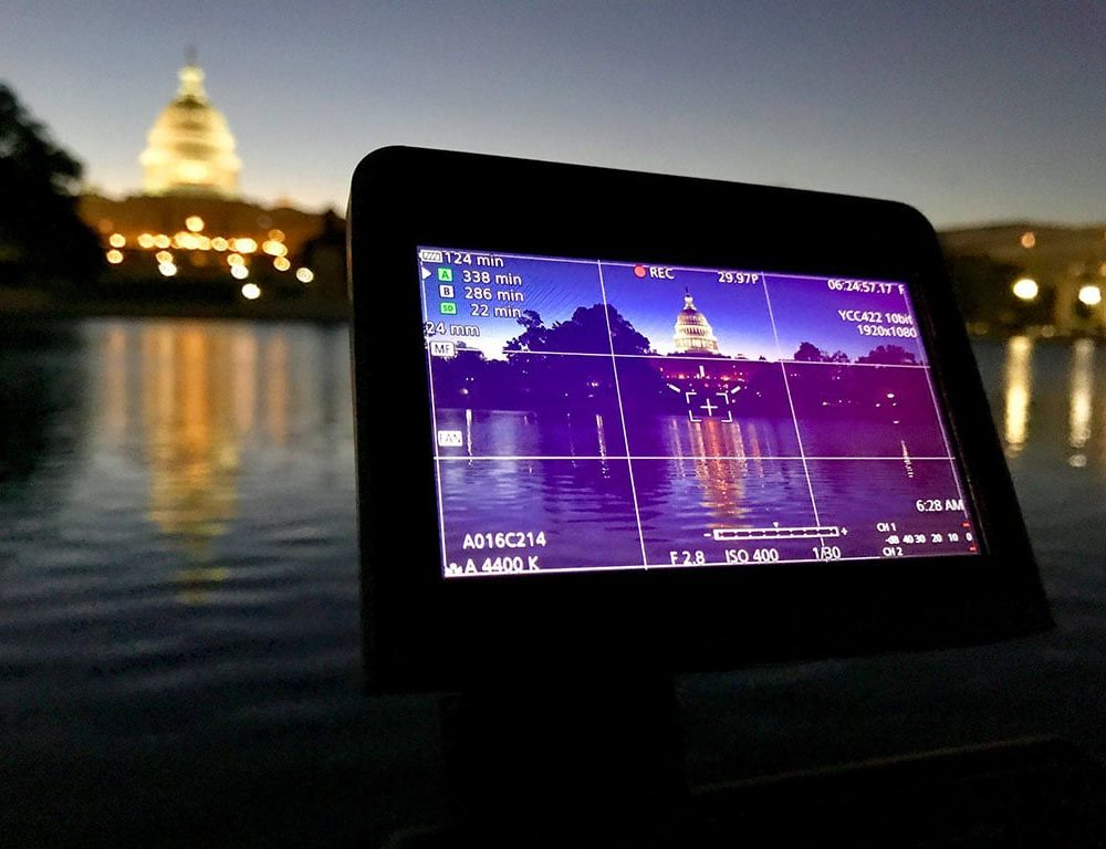 Filming the Capitol