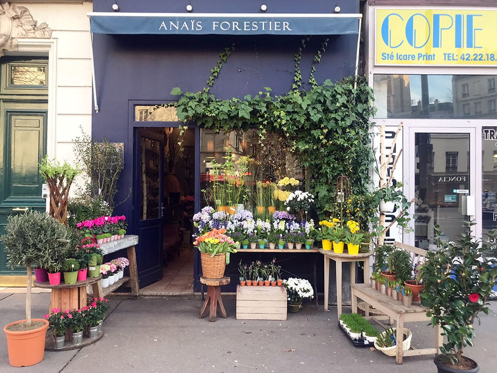 Cute Paris Flower Shop