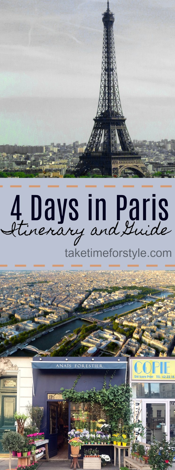 Paris Itinerary Pin