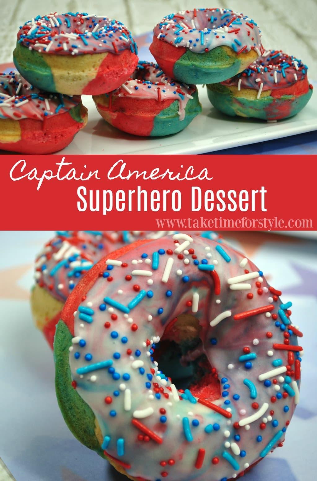 superhero dessert