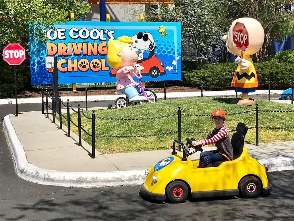 Jake Driving Joe Cool's Driving School