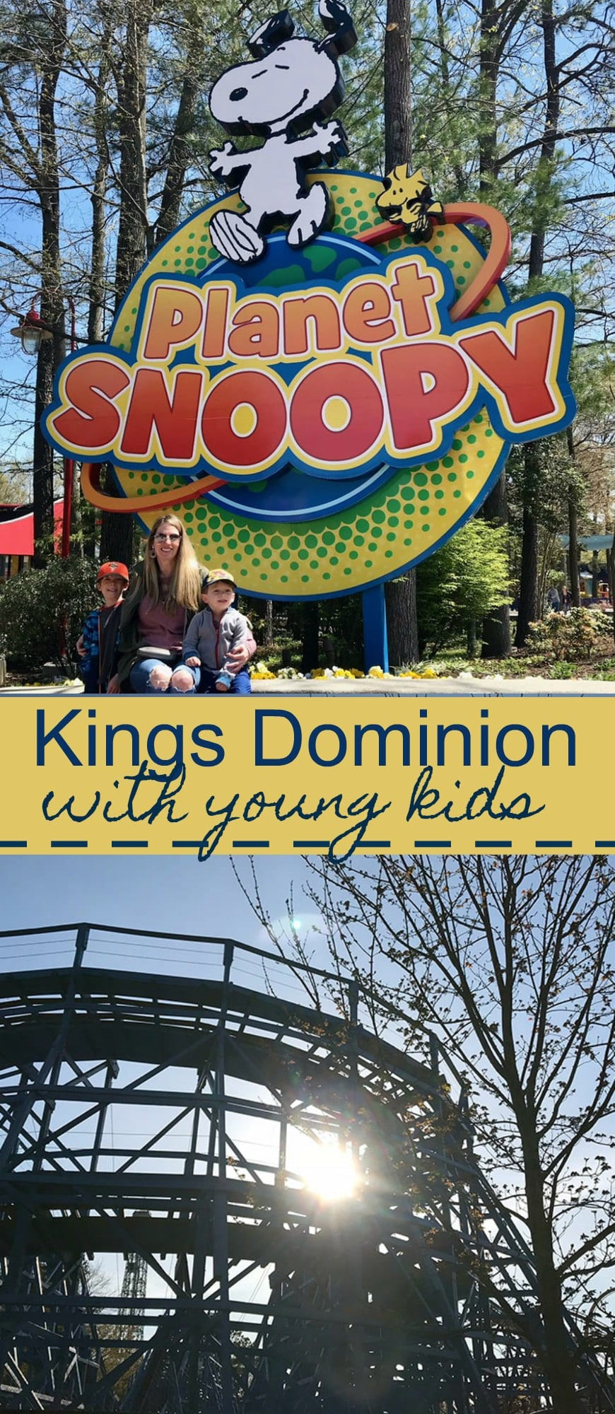 Kings Dominion with young kids