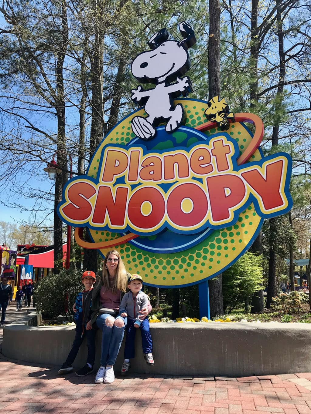 Planet Snoopy at Kings Dominion