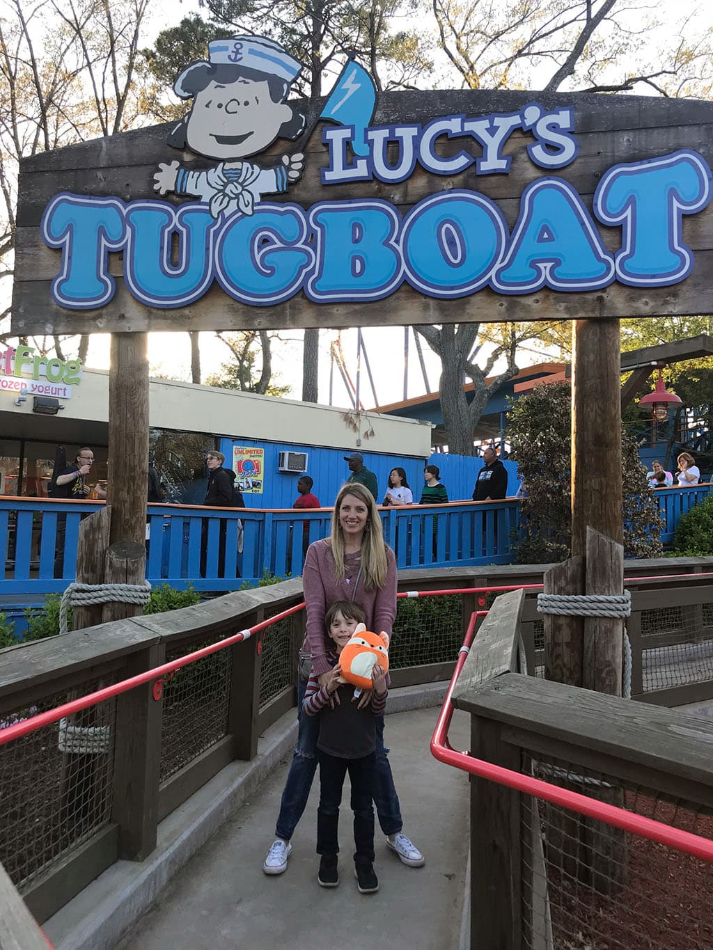 Lucys Tugboat Ride