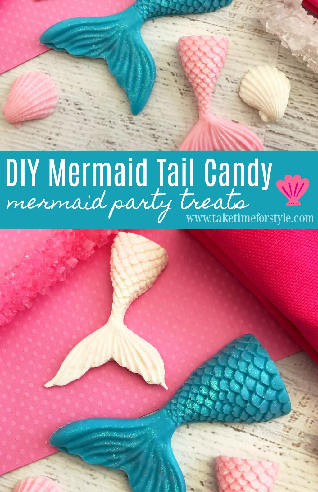 diy mermaid party treats