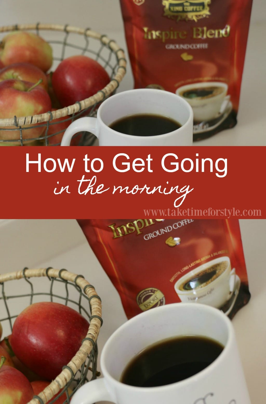 tips for how to get going in the morning