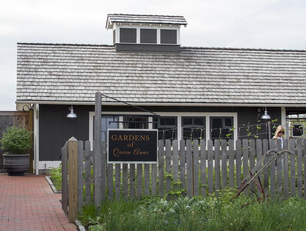 Garden Entrance at The Inn at Chesapeake Bay Beach Club