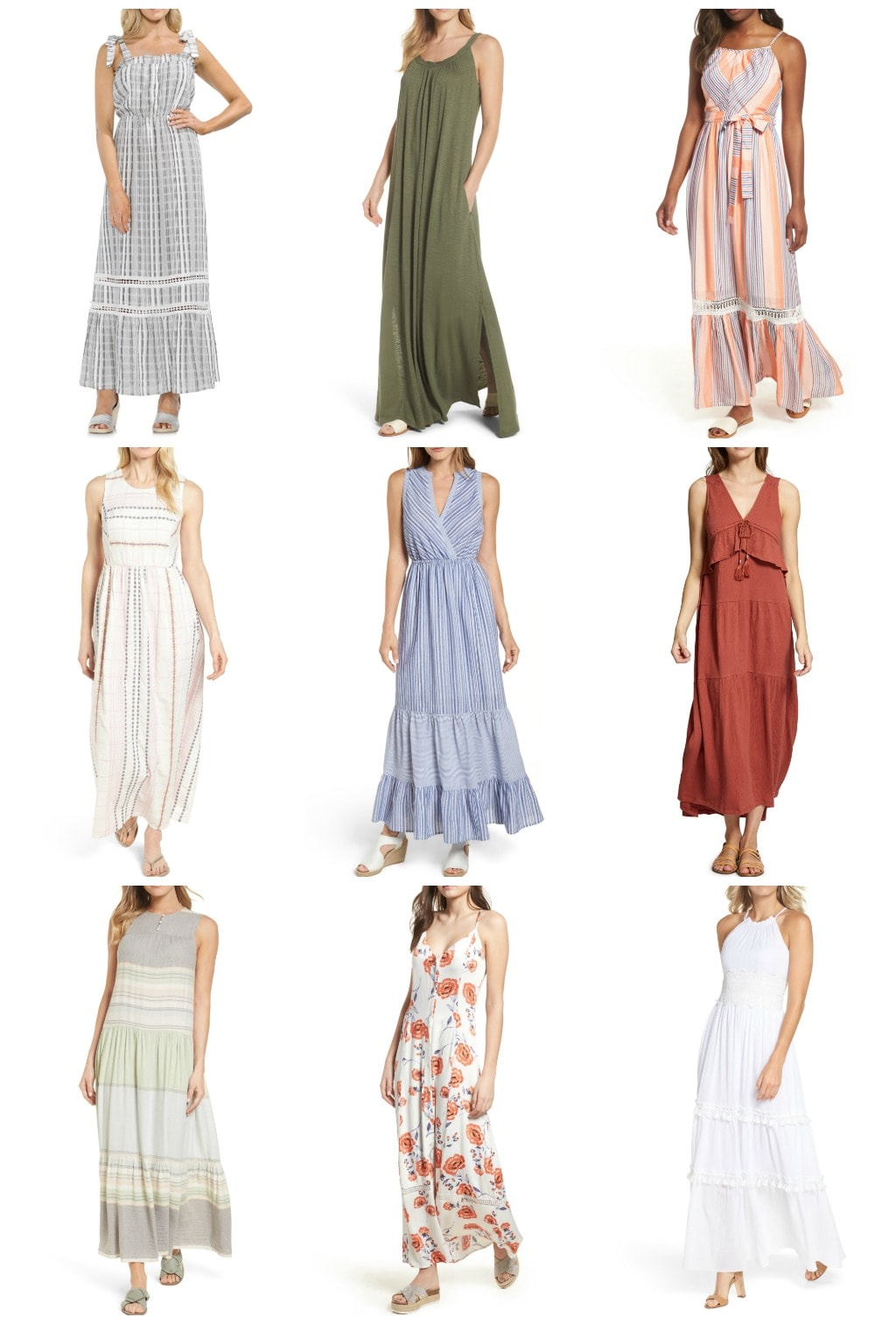 must have casual summer maxi dresses