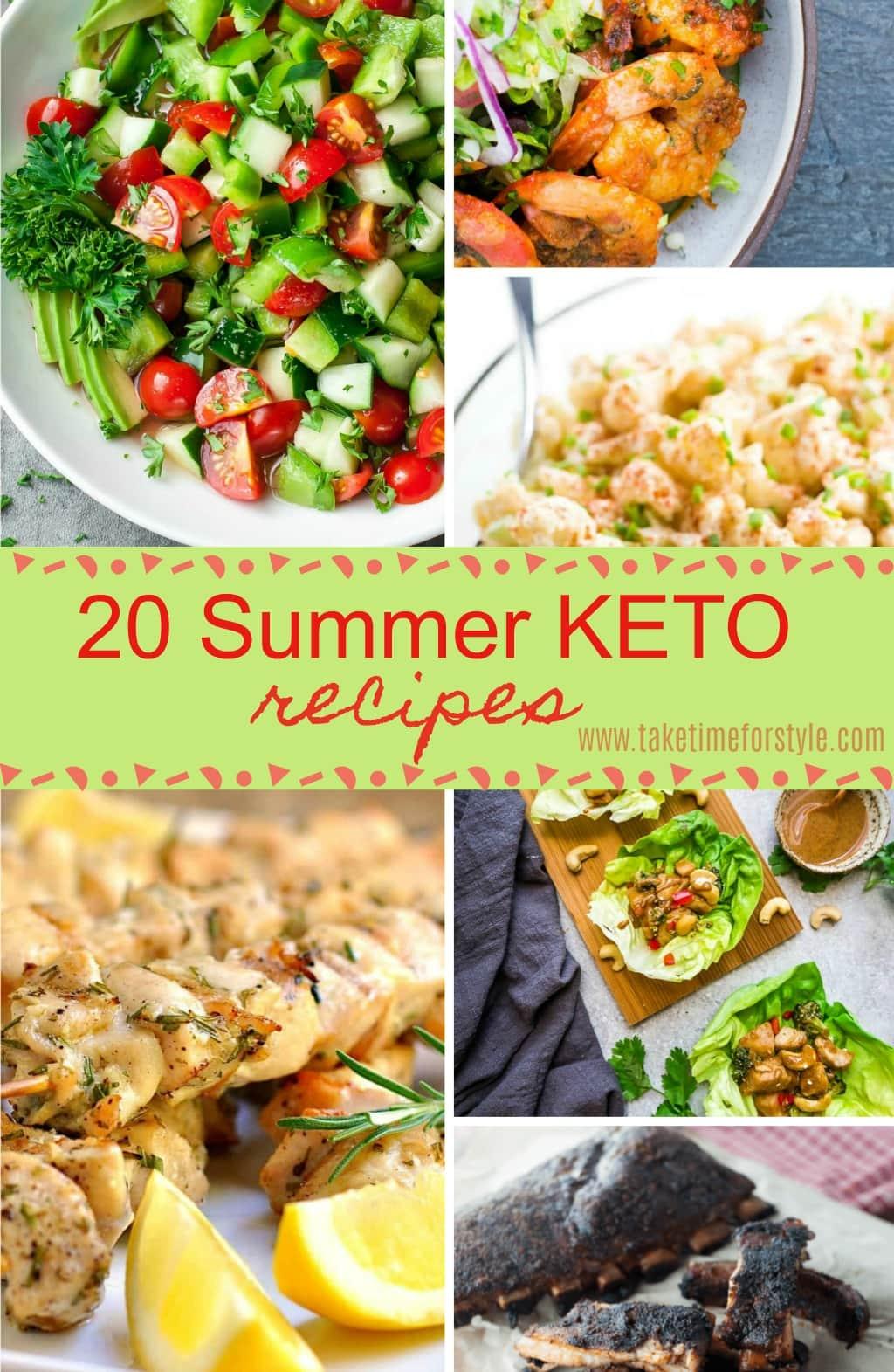 summer keto recipes