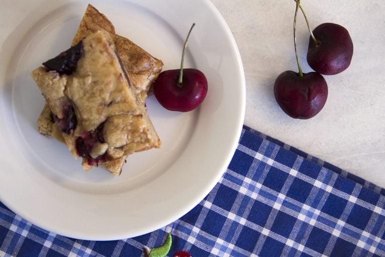 Chocolate Chip Cherry Bars Recipe