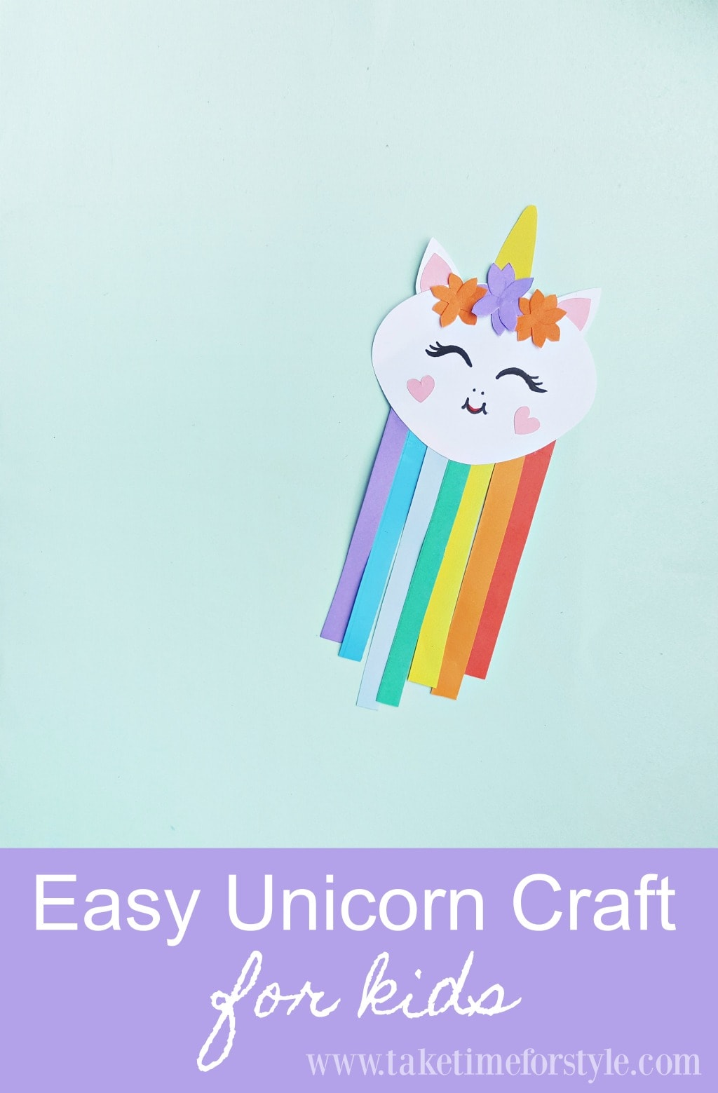 easy unicorn craft for kids