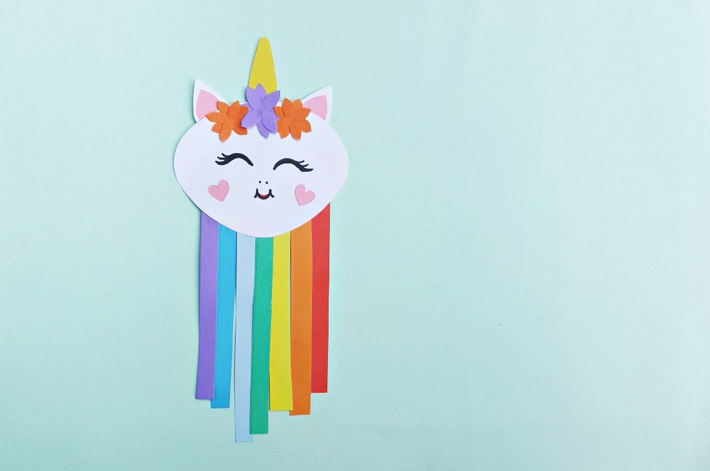 easy unicorn craft to try