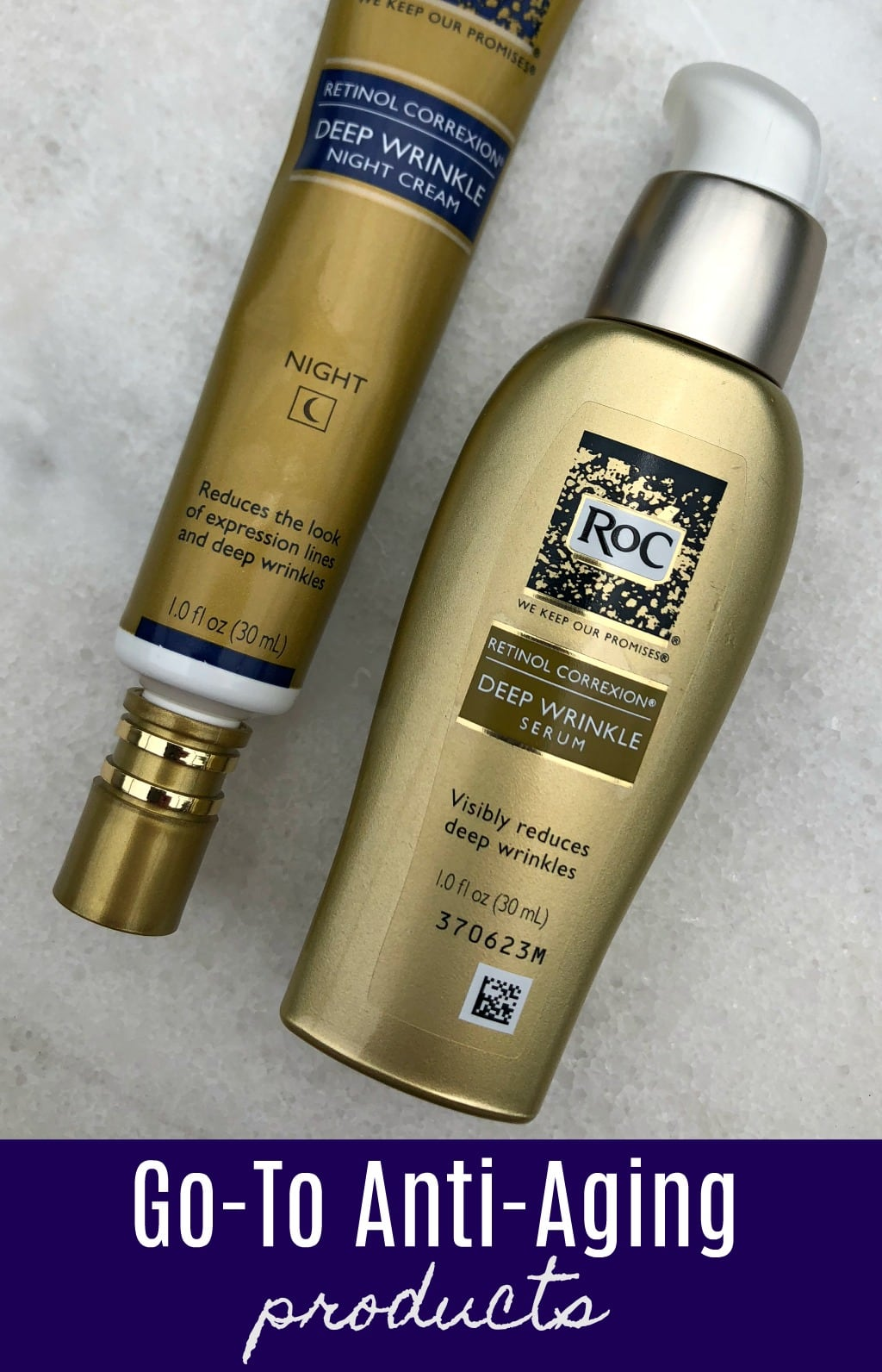 go-to anti-aging products