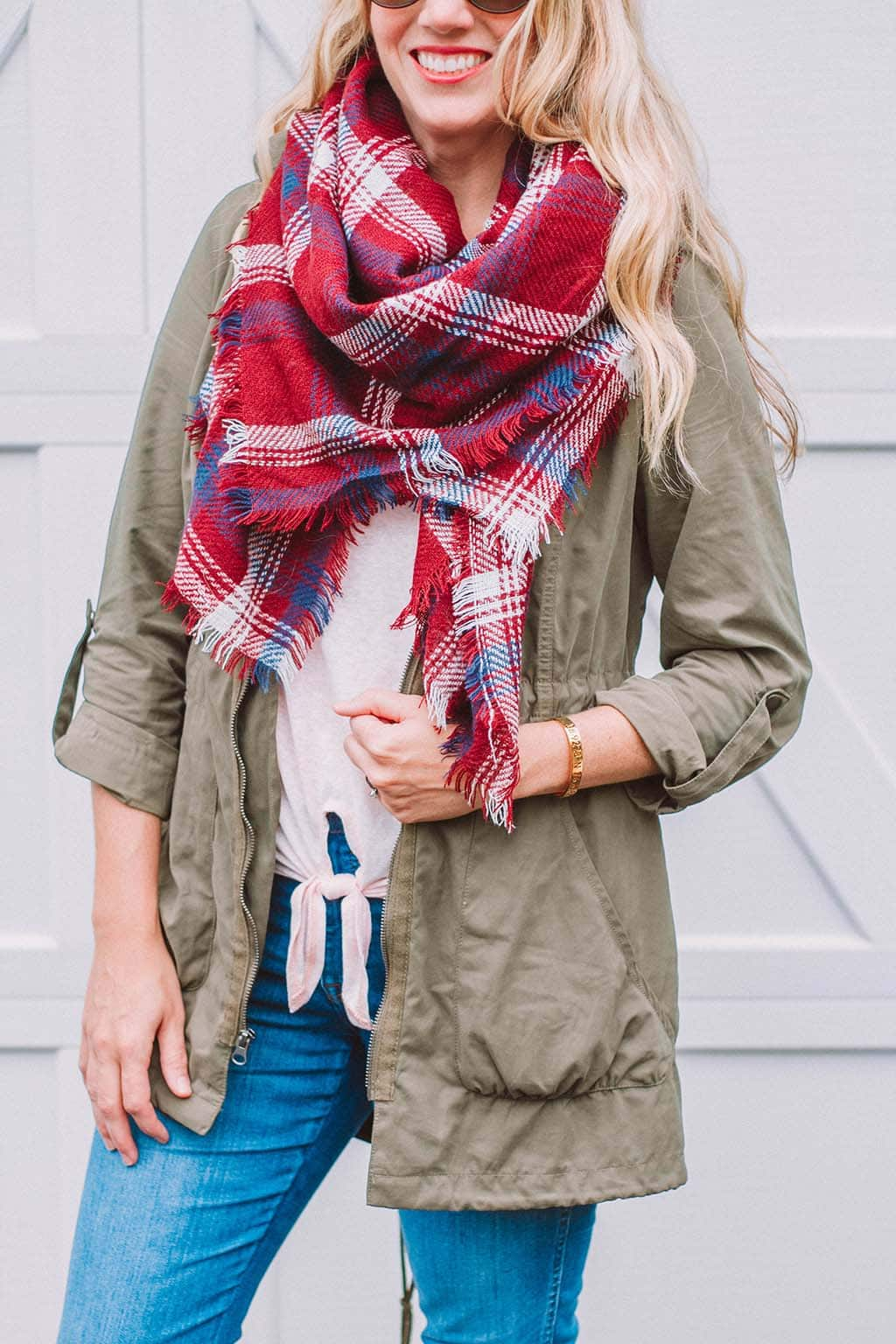 Easy Fall Transitional Look