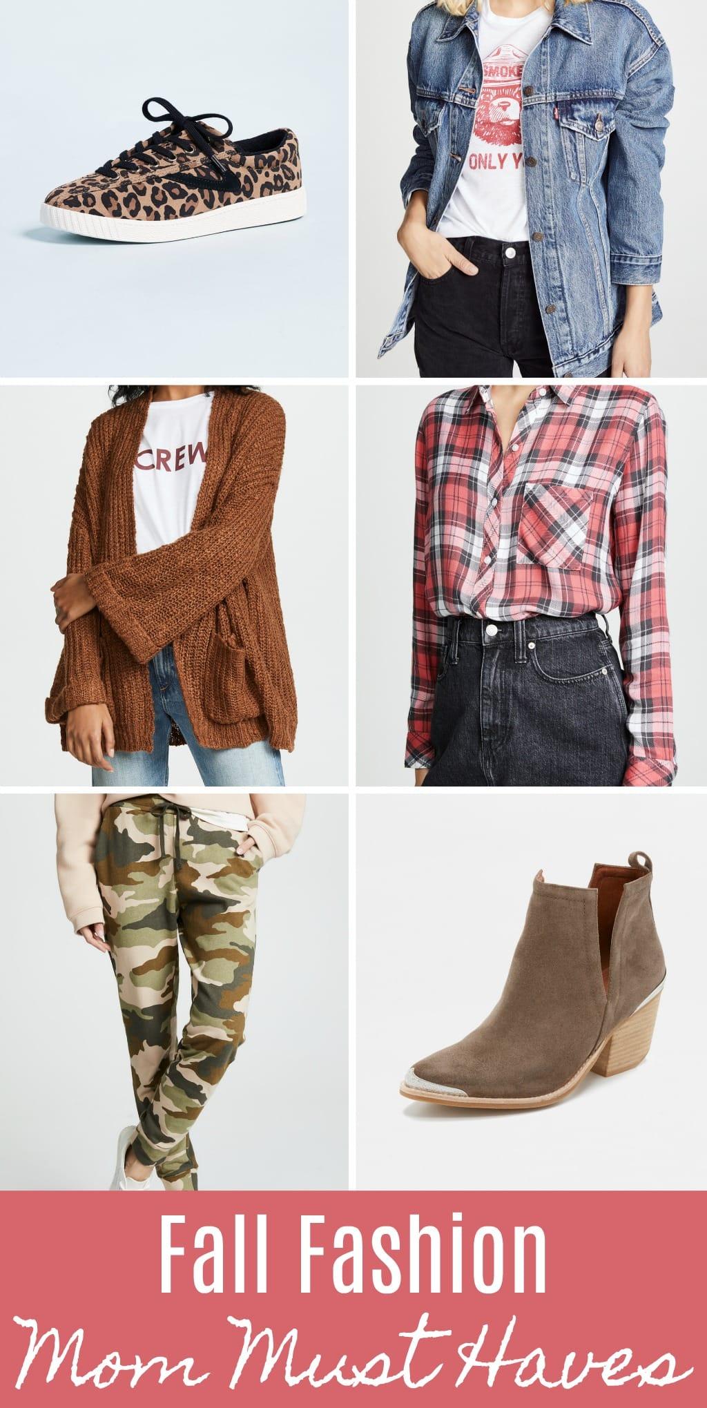 fall mom wardrobe must haves