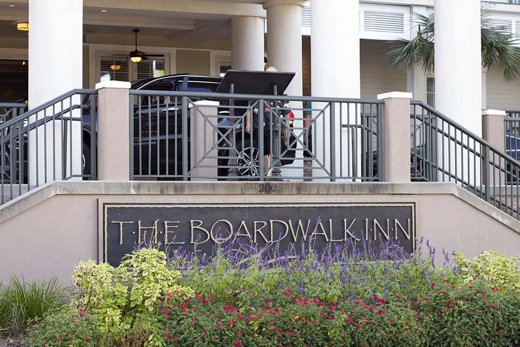 Boardwalk Inn Sign