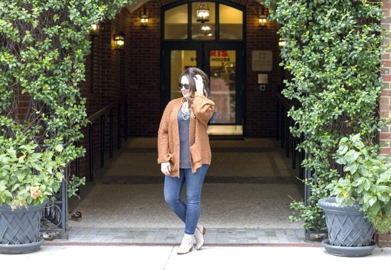 Cozy Fall Cardigan Outfit to Try