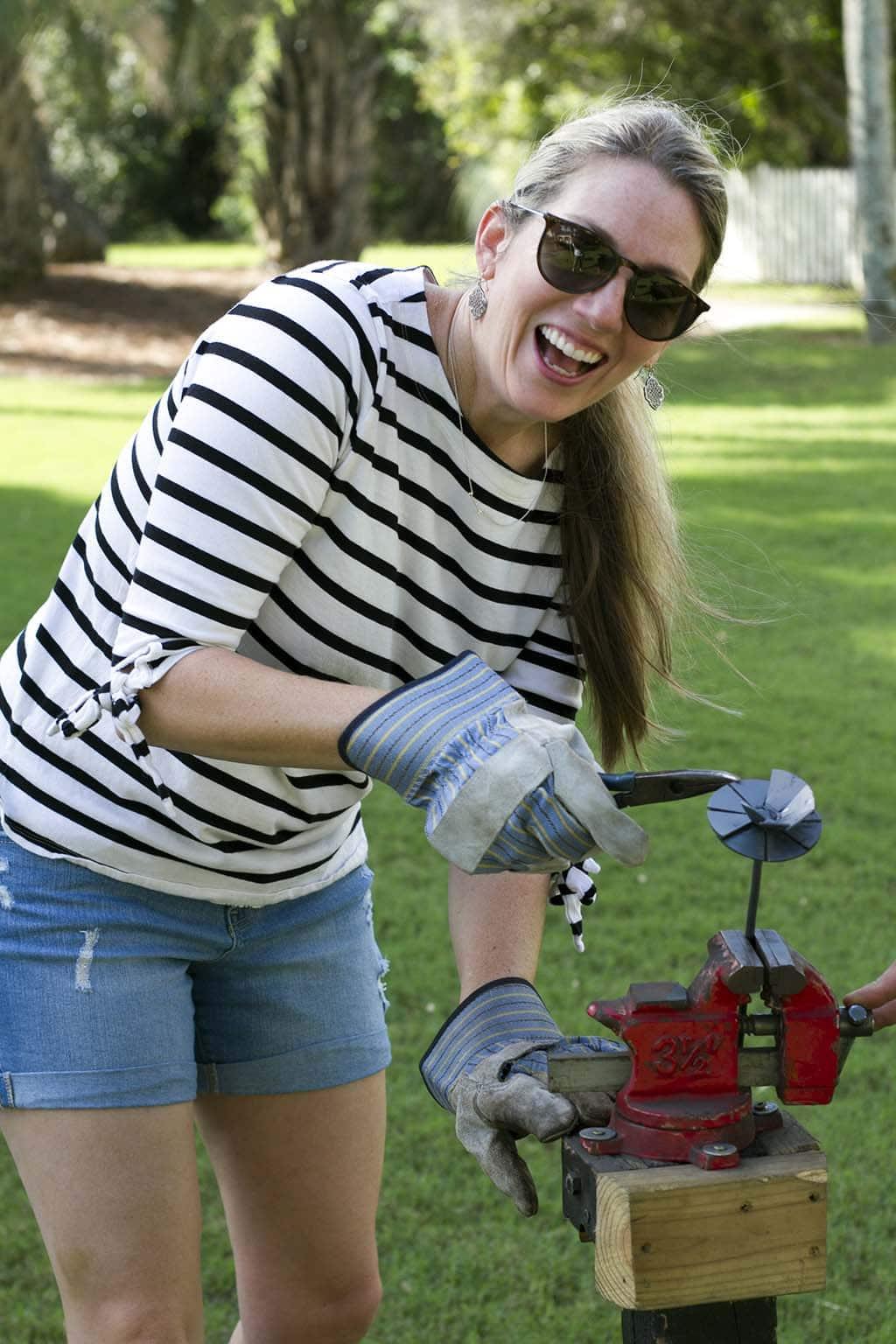 Meg Ironworking